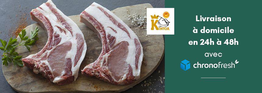 Livraison chez vous de viande fraîche AOP avec CHRONOFRESH
