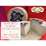 Un fromage de brebis acheté = une gelée de coing offerte