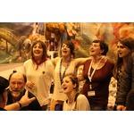 Pierre Oteiza accueille Euskal Telebista et les chanteurs de la Vallée