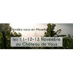 Retour au Château de Vaux les 11-12-13 novembre 2016