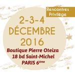 Les 2-3-4 décembre : rendez-vous à la boutique de Paris Saint Michel