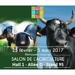 Retrouvons-nous au Salon de l'Agriculture du 25 février au 5 mars !