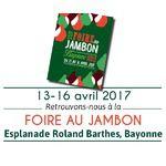 Foire au Jambon 2017 - du 13 au 16 avril 2017
