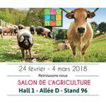 Retrouvons-nous au Salon de l'Agriculture, du 24 février au 4 mars