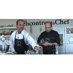 La recette filmée du boudin basque accompagné de la sauce Pika Berdea