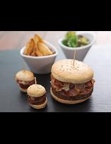 Burger de jarret de Porc Basque confit