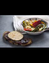 Foie gras aux légumes d'été