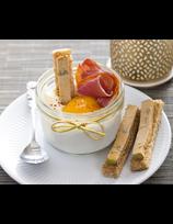 Œufs cocottes au jambon de Kintoa AOP et au foie gras