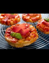 Tarte Tatin au jambon et tomates cerises