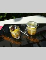 Recette de verrine de foie gras et poire caramélisée