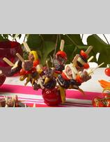 Recette de brochettes de saucisses confites