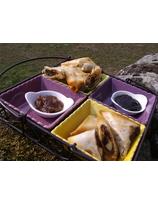 Recette de samoussas au fromage et confiture de cerise
