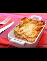 Lasagnes aux chichons et pimientos del piquillo