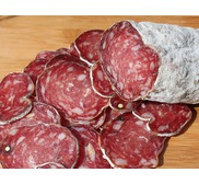 "Dried sausage from ""Les Aldudes Valley"""
