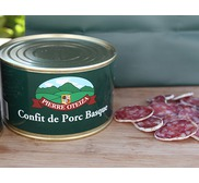 Basque pork confit 390g (tin)