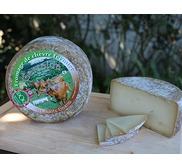 Fromage de chèvre fermier Garralda au lait cru (tomette)