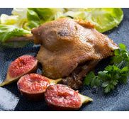 6 Cuisses de canard cuites dans la graisse de porc basque 2kg - 4 parts