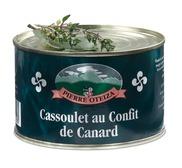 Cassoulet au confit de canard 420 g
