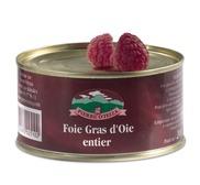 Foie gras d'oie entier