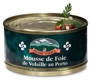 Mousse de foie de volaille au Porto 125 g