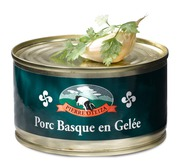 Basque pork paté in aspic