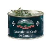 Duck confit Cassoulet 840g (tin)