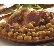 Jarret de Porc Basque aux garbanzos