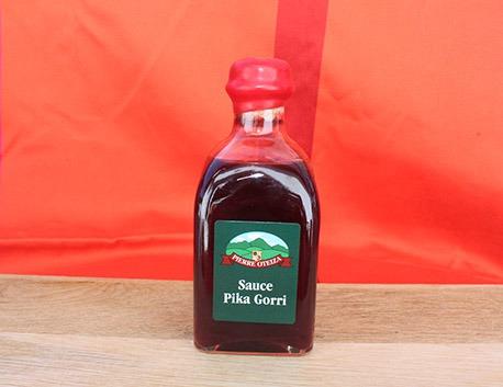 Sauce Pika Gorri à base de jus de cerise