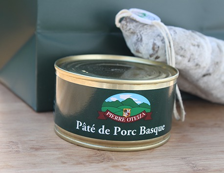 Basque pork paté