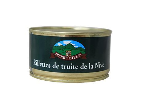 Rillettes de truite de la Nive 190 g