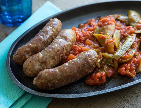 Saucisses Confites au gras de porc basque 400g