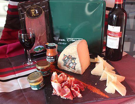 Coffret gourmand Les 4 AOC du Pays Basque
