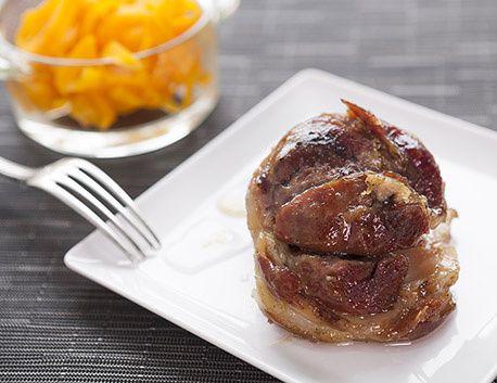 Jarret de porc basque confit sous vide