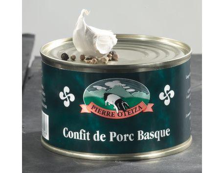Cassoulet au confit de Porc Basque 420 g