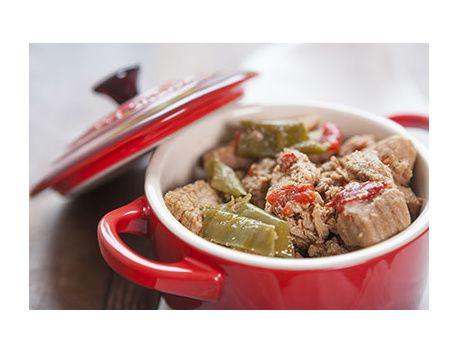 Axoa de veau aux piments doux 2.1 kg POUR 10 PERSONNES