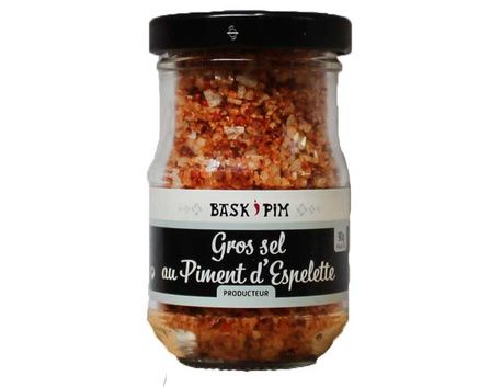 Gros sel au piment d'Espelette - verrine 90g