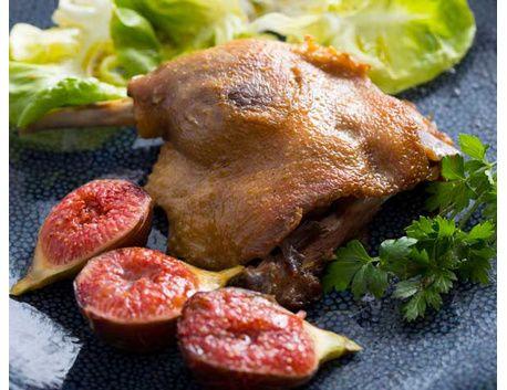 2 Cuisses de canard cuites dans la graisse de porc basque 1 kg - 2 parts