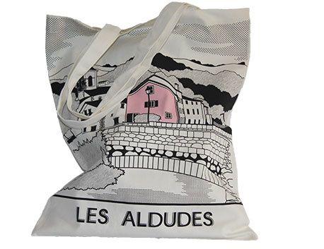 """Sac en toile """"Les Aldudes"""""""