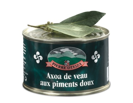 Axoa - veal with sweet pepper 370g (tin)
