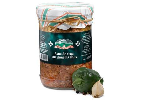 Axoa de veau aux piments doux 690 g