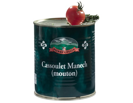 Cassoulet Manech du mouton du Pays Basque