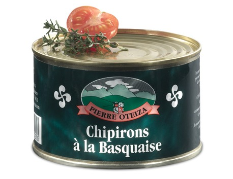 Basque style chipirons 380g (tin)