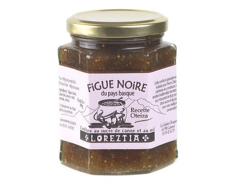 Confiture de figue noire au sucre de canne et au miel