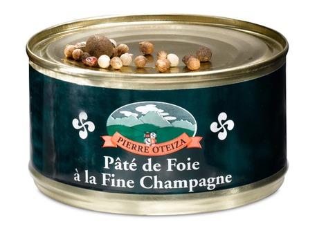 Pâté de foie à l'eau de vie fine Champagne