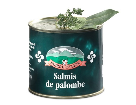 Wood pigeon salmis 600g (tin)