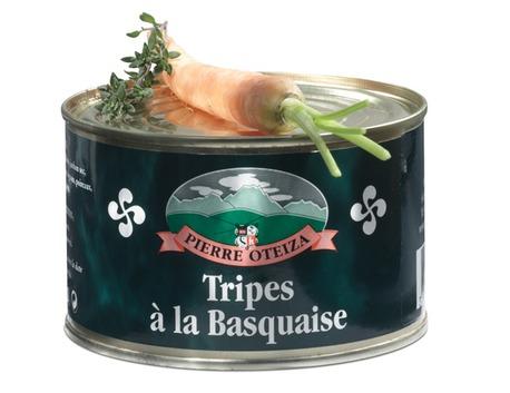 Basque style tripe 400g (tin)