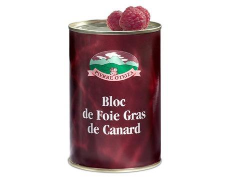 Block of duck foie gras