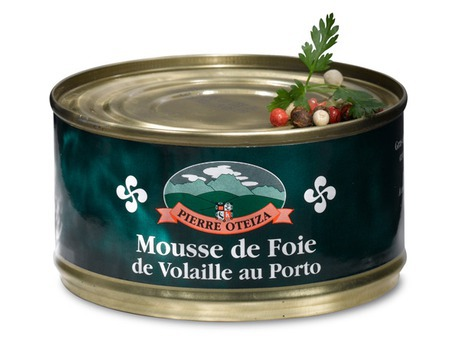 Poultry liver mousse with Porto