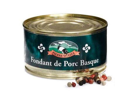 Melting Basque pork paté