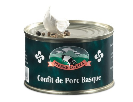 Basque pork confit 800g (tin)
